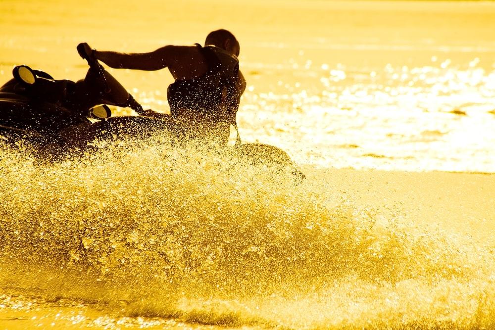 jet ski and tourism